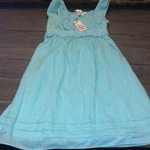 NWT Max studio dress in aqua size xs